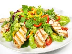 proteïne dieet recepten salade
