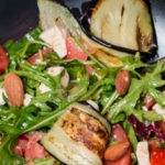 wilde rucola salade
