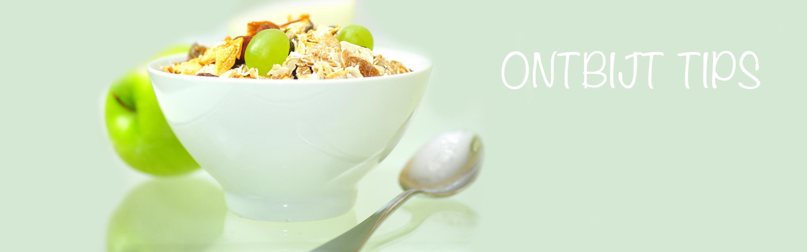 afvallen ontbijt tips