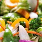 dieet groentesalade uit de wok