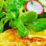 proteine dieet recept kruidige omelet salade