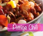 proteine dieet recept pittige chili