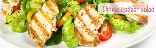 proteine dieet recepten caesar salad