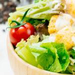 dieet caesar salade proteine dieet recept