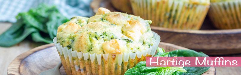Koolhydraatarm recept Hartige muffins