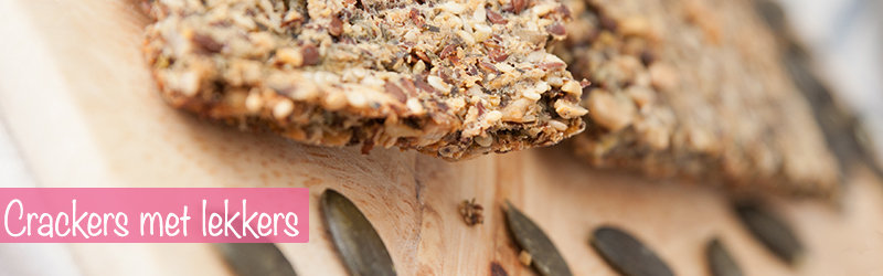 proteine dieet recept ontbijt crackers