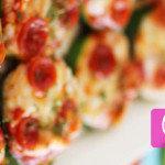 courgette pizza's
