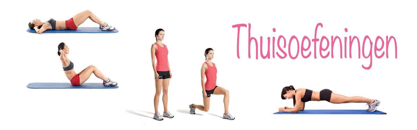 Thuisoefeningen om af te vallen plus tips voor thuis oefeningen - Voor thuis ...