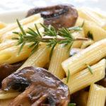 proteine pasta champignons