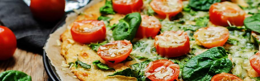 proteine-dieet-recept-pizza-bloemkoolbodem