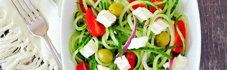 Griekse dieet salade komkommer
