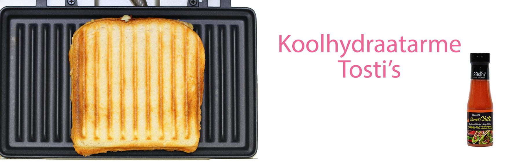 Koolhydraatarme tosti's