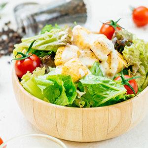 dieet caesar salade recept