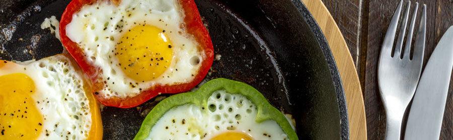 gevulde paprika ei proteine dieet recept