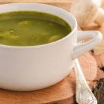 prei spinazie soep voor de flinke trek