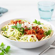 proteine-dieet-recept-courgette-spaghetti