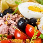 proteine-dieet-salade-nicoise