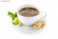 Aziatische Noodlesoep