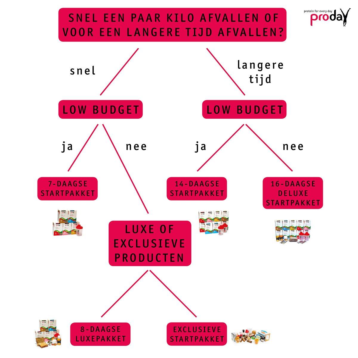 Proday startpakket infographic